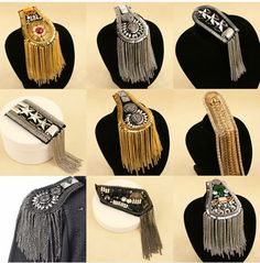 New 2014 luxury fashion jewelry designer brand men blazer accessories wholesale/pins/broches/scapulae/epaulettes/shoulder US $13.98