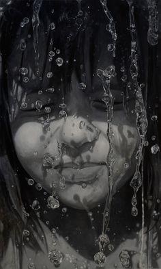 """Saatchi Art Artist: Sándor Hartung; Oil 2012 Painting """"Sári"""""""