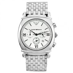 Emporio Armani AR0315 Stainless Steel Luxury Mens Watch
