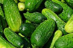 Komkommers, Groenten, Eten, Keuken
