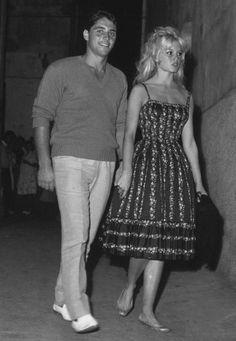 Brigitte Bardot & Sacha Distel