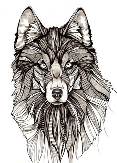 Wolf by aofie-fionn.deviantart.com on @DeviantArt:
