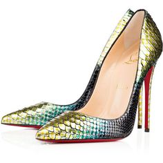 Christian Louboutin So Kate (431.770 HUF) ❤ liked on Polyvore featuring shoes, pumps, christian louboutin, heels, louboutin, mimosa, sexy pumps, snakeskin pumps, heels stilettos and christian louboutin pumps