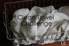 clean towel challenge-get rid of that funky smell!