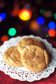 12 Days of Christmas Cookies: Snickerdoodles #easy #traditional