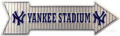 Yankee Stadium Tin Sign at AllPosters.com
