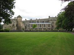 Falkland Palace from the rear lawn
