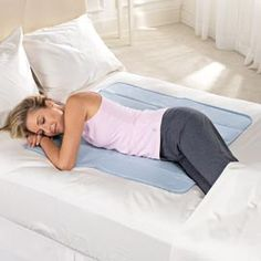 A cooling mat-This would have been great while I was pregnant!