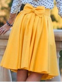Preppy Style High-Waisted Solid Color Pocket Design Women's Skirt