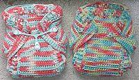 MyFrugalBabyTips.com: Crochet Wool Soakers - Little Fire Crochet Soaker Pants, Tickle Turdle Wool Wraps, Rolled Edge Wool Soakers