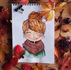 Иллюстрации художников, картинки Nastya Danilyuk