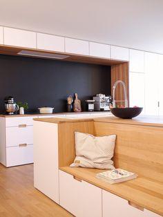 k che in u form mit bar sch ne ideen und bilder f r theken in kleinen und gro en k chen k che. Black Bedroom Furniture Sets. Home Design Ideas