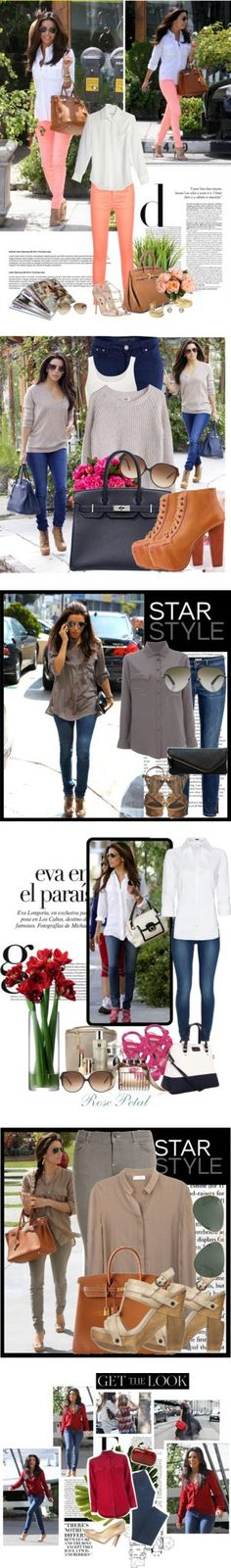 """Happy Birthday, Eva Longoria!"" by polyvore-editorial on Polyvore"