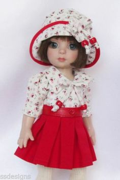 "Patsy's Happy Day Dressing for 10"" Ann Estelle etc Made by Ssdesigns 
