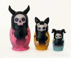 evil nesting dolls