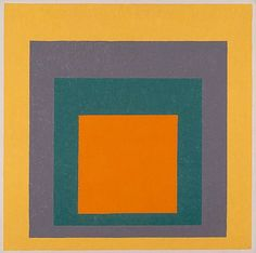 Josef Albers, Homage to the Square, 1951-55, gift of Mrs. Anni Albers and the Josef Albers Foundation, Inc., © The Josef and Anni Albers Foundation / Artists Rights Society (ARS), New York