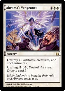 Akroma's Vengeance; want it for my Akroma deck.