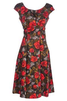 RetroSpec'd Empire Dress