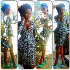 Ankara outfit perfect for work