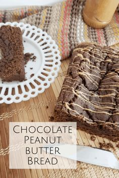 Chocolate Peanut Butter Bread... | The Diary of a Frugal Family Peanut Butter Bread, Chocolate Peanut Butter, Chocolate Recipes, Easy Homemade Gifts, Frugal Family, Chocolate Peanuts, Frugal Meals, Cooking With Kids, Yummy Food