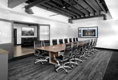 Conference Room Design, Conference Table, Conference Meeting, Corporate Interior Design, Corporate Interiors, Office Space Design, Showroom Design, Break Room, Modern Industrial