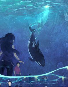 Orca by *joodlez on deviantART