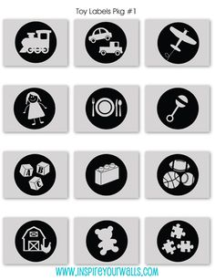 Toy Label Pack-