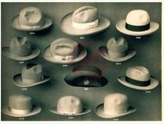 0c4f969478b John B. Stetson Company 1900 Trade Samples CATALOG Bowler Cowboy Hats  models etc
