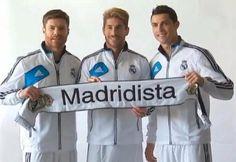 Xabi, Ramos, Cristiano