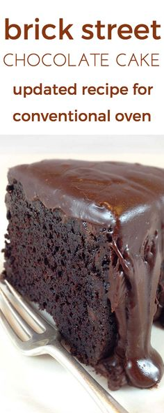 Brick Street Chocolate Cake for CONVENTIONAL Oven. All your dreams of a rich…