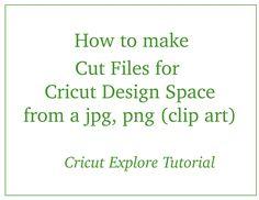 Cricut Explore - Using JPG, PNG Clip Art in Design Space