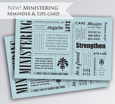 Are you in a Relief Society presidency and now have the task of interviewing your sisters and setting up new ministering assignments? This card can help you teach the new principles to your sisters. A thought provoking reminder card in a cute subway design style to help your sisters