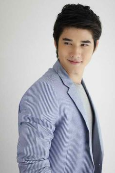 Mario Maurer. Thai actor. What a cutie!!