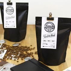 Identity & Packaging design for Terrone by Apple #coffee #packaging #coffeecopia