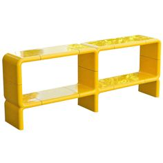 Kay Leroy Ruggles UMBO Modular Horizontal Shelf | From a unique collection of antique and modern shelves at http://www.1stdibs.com/furniture/storage-case-pieces/shelves/
