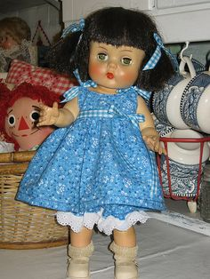 Horsman doll , outfit I made