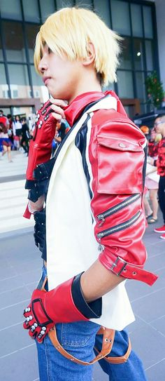 Leo Kliesen: Shu Yuzuriha (Leon Lee) Leon Lee, Tekken Cosplay, Punk, Style, Fashion, Swag, Moda, Fashion Styles, Punk Rock