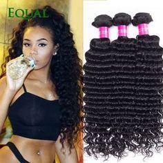 Malaysian Deep Wave Virgin Hair 4 Bundles 8a Curly Y Formula Unprocessed