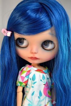 OOAK custom Blythe doll Carolina
