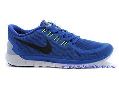 premium selection 65cc8 d36d4 Nike Free 5.0 2015 -Chaussures De Running Pas Cher Pour Homme Bleu Noir  724382-400 - Sneaker Elite Site-sneakerelitesite.com.