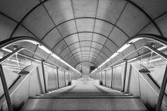 Boca del metro de Bilbao