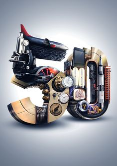 How it Works Magazine: 50 by Devin Schoeffler, via Behance