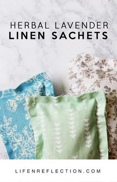 Handmade Herbal Lavender Linen Sachets from the Garden. Lavender's classic scent notes of clean, calm, fresh, and floral make it a must for every home! It's adaptable aroma has made it popular for many uses.