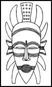 SENUFO, African masks