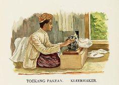 ambachten, oude prenten, oude foto's, old pictures, bali, indie, indonesia, indonesie, van der heyden