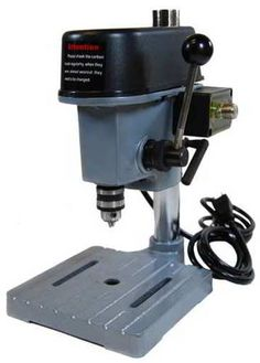 Delta Coffee Maker With Grinder : Making a Bench Top Drill Press Into a Floor Model Drill Press Models, Benches and Tops