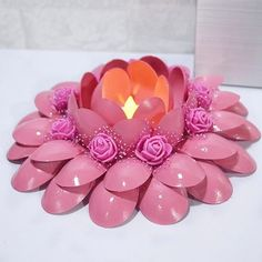 Cottage Crafts Plastic Spoons Recycling Ideas Beautiful Candles Origami Candle Holders Projects To Try Parties Decorations Candlesticks Plastic Spoon Crafts, Plastic Spoons, Plastic Bags, Diwali Craft, Diwali Diy, Diy Home Crafts, Crafts For Kids, Diy Diwali Decorations, Beautiful Candles