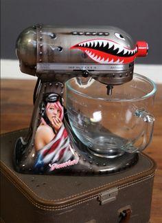 Custom Airbrushed Mixers!