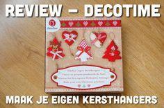 Review - decotime - maak je eigen kersthangers.