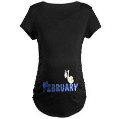 New Maternity Pregnancy 10-20 Peek a boo Print Girl Boy Baby Top Tunic T-Shirt
